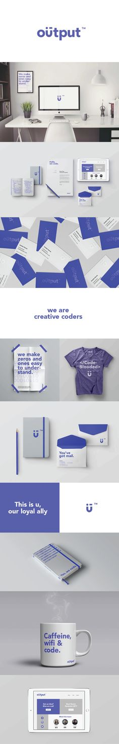 Output – Branding by Tribeca Studio  www.tribecastudio.net