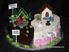 divorce cake @Shirley Vitale Ramirez Gonzalez