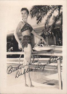 Us Actress, Eddie Fisher, Debbie Reynolds, Movie Photo, Movie Stars, Vintage Photos, Bikinis, Swimwear, Actresses