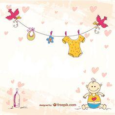 Waslijn babykleertjes in kleur