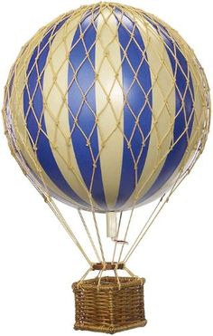 Authentic Models Floating the Skies Hot Air Balloon Replica, Color: Blue Authentic Models http://www.amazon.com/dp/B00424MZUI/ref=cm_sw_r_pi_dp_XVe8ub13TW87P