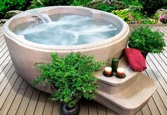 It's time to take the plunge! Shop our selection of hot tubs, saunas, and relaxation-focused accessories. Waterproof LED lights, lanterns, and bath fragrances enhance the calming atmosphere, while teak racks and benches keep supplies tucked away. When it's time to head inside, plush robes and towels wrap you in comfort.http://www.wayfair.com/daily-sales/Home-Spa-Refresh-featuring-Lifesmart~E13229.html?refid=SBP.rBAZEVNgYO9j8VjdTClRArhzwr_gdElNp7hnJUSkl6U
