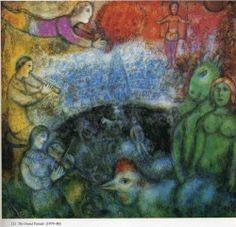 The Grand Parade - Marc Chagall