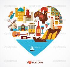 simbolos tipicos de portugal - Pesquisa Google