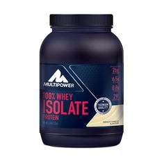 Multipower Whey Isolate Protein im Test Gym Supplements, Bodybuilding, Whey Protein Isolate, French Vanilla, Fett, Fitness, The 100, 100 Whey, Health