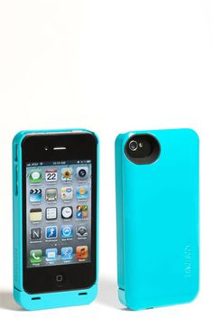 Boostcase 'Hybrid' iPhone 4 & 4S Case & Battery Sleeve. gives you an extra day of battery life
