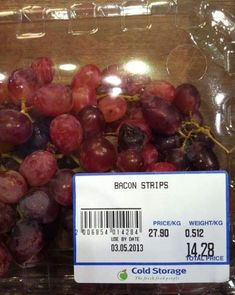 You Had One Job Fails Bacon Strip Grapes ~ 27 You Had One Job Fails (Yes. These are Bacon strips )Bacon Strip Grapes ~ 27 You Had One Job Fails (Yes. These are Bacon strips ) Job Memes, Job Humor, Ecards Humor, Nurse Humor, Memes Humor, Really Funny, The Funny, Ein Job, Job Fails