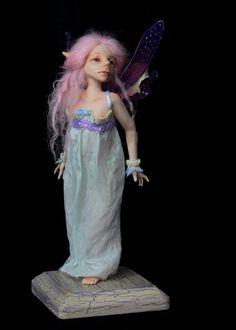 Avery, OOAK sculpt by Sherrie Neilson Art Dolls, Sculpting, Elsa, Disney Princess, Disney Characters, Dresses, Fashion, Vestidos, Moda