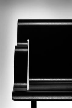 """""""milo–vs: """"Fauteuil 26 by Alvar Aalto """" Art Furniture, Design Furniture, Chair Design, Modern Furniture, Alvar Aalto, Raven Color, Design Art, Modern Design, Scandinavia Design"""