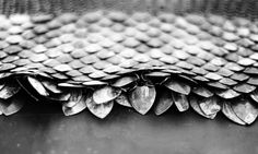 Scalemail - very touchable.