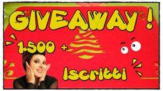 Giveaway 1.500 + ISCRITTI! • •• AhC •• • [APERTO fino al 24 Dicembre]