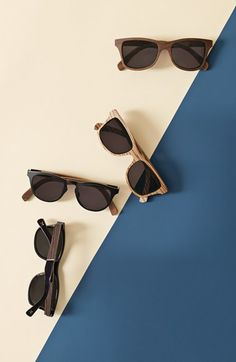 Shwood 'Canby' 53mm Wood Sunglasses   Nordstrom
