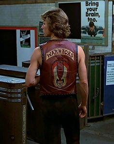 Swan from The Warriors 1979 80s Movies, Good Movies, Movie Tv, Biker Movies, The Warriors Baseball Furies, Michael Beck, Custom Denim Jackets, Warrior Movie, Films Cinema