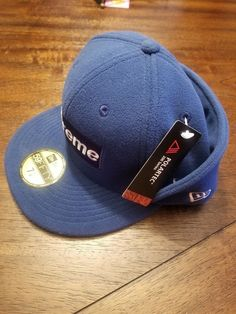 32a4b90dae5 NEW Supreme New Era Polartec Ear Flap Hat Navy Size 7 1 8 Hats  fashion   clothing  shoes  accessories  mensaccessories  hats (ebay link)