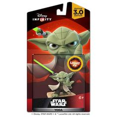 ForceFX version, actually lights up! Disney Infinity 3.0 Edition: Star Wars™ Yoda Light FX Figure - TARGET EXCLUSIVE