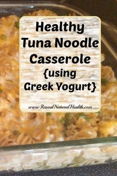All the prep work for this healthy tuna noodle casserole can be done while the noodles are boiling - and that includes freshly shredding your own cheese! OKAY try this but with shredded BRUSSEL SPROUTS instead of noodles. Yes I am crazy. Fish Recipes, Seafood Recipes, Great Recipes, Favorite Recipes, Recipies, Seafood Dishes, Recipe Ideas, Tuna Dishes, Chicken Recipes