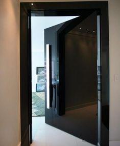 Modern Entrance Door, Main Entrance Door Design, Door Gate Design, House Gate Design, Front Door Design, Modern Door, House Entrance, Home Room Design, Modern Apartment Decor