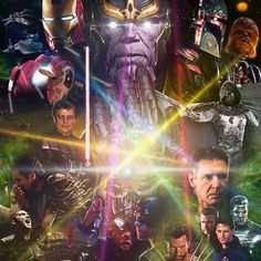 Patton Oswalt Inspired Star Wars: Episode VII the Gauntlet of Infinity Poster -- The comedian's eight-minute scene from tonight's Parks and Recreation episode offers his pitch for a Star Wars/Avengers crossover. -- http://wtch.it/OZUvk