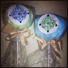 Cotton candy wedding favors -sdweddingsbygina.com