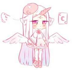 [OTA - open] Moon unicorn yanny by Seraphy-chan