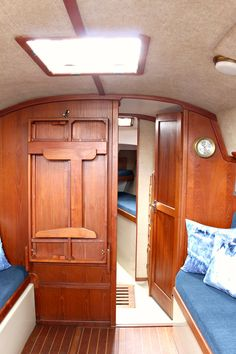 Ahoy! Tour Our Updated Ticon 30 Sailboat Interior