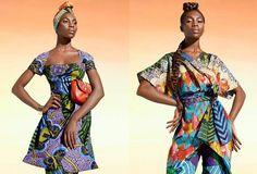 Moda afro com toda !