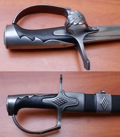Zombie Weapons, Knife Art, Swords And Daggers, Arm Armor, Cool Guns, Red Sea, Axe, Firearms, Arsenal