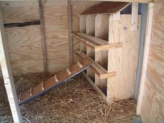 Chicken Nesting Boxes With Unique Design