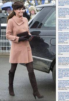 Kate Middleton: elegante como de costume Foto: Reprodução