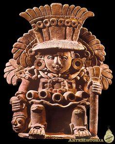 Xipe Totec. Cultura Zapoteca (Monte Albán, México), 600-1000 // Museo Nacional de Antropología de México