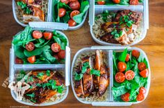 Healthy Chocolate Chicken Mole Meal Prep | Fit Men Cook