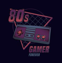 Gamer Forever - Created by David Cano Designs...