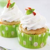 Recette cupcake au chèvre pistou et chorizo