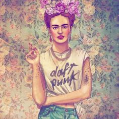 Love this! I could definitely see Frida stomping around Casa Azul in this get up :)
