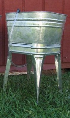 Drain Tubs With Stands   Galvanized   Owneru0027s Favorite Brands   Shop