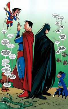 Superman & Batman by Rafael Albuquerque This is so perfect its ridiculous haha