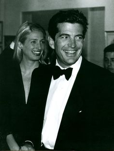 #CarolynBessette and #JohnFKennedy Jr