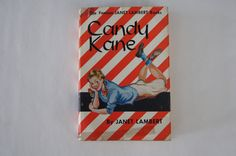 Vintage 1943 - Candy Kane by Janet Lambert  with original book jacket by TheMercerStreetHouse on Etsy
