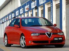 Alfa Romeo 156 GTA ZA-spec 2003–2005 wallpaper