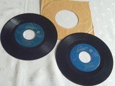 Chipmunk Song David Seville Mid Century 45 RPM by EauPleineVintage