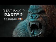 ZBRUSH BÁSICO PARTE 2 - YouTube