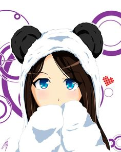 Panda Anime Girl, Naruto, Little Girls, Country Houses, Flowers