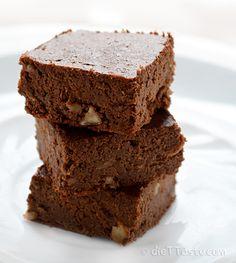Flourless Brownies #glutenfree #grainfree