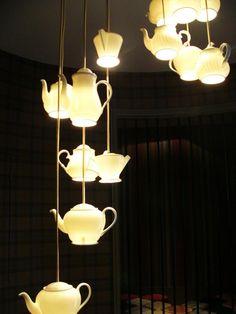"""Teapot grouping"" - Design Peter Bowles, founder of Original BTC for Roche Bobois"