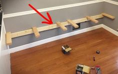 He Got Rid Of His Old Dining Room Table. What He Built In Its Place Is Making Everybody Jealous
