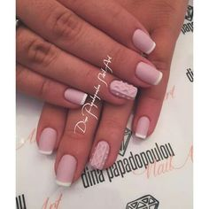 Ροζ γαλλικο σχεδιο νυχια