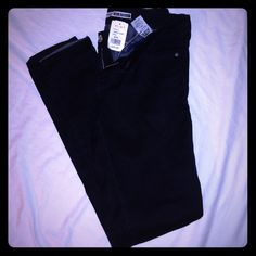 Black skinny jeans NWT Basic black skinny jeans size 9 from A'gaci. Never worn. Low rise Highway Jeans Jeans Skinny