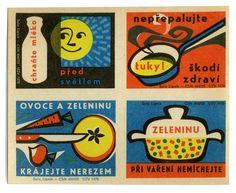 Czech Matchbook labels via DesignWorkLife