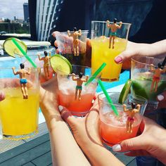 Let Josh, Ryan, Cody, Brad, Chad & Mitch get your party started! Each cabana boy will protect your drink during the bachelorette party and will look good do