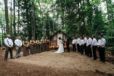 We gathered bits from here and there and everywhere with the intention of only using words that were meaningful to us and our wedding ceremony. read more